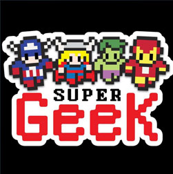 Super Geek Stuff